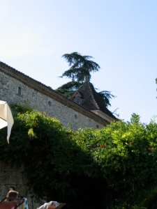 The house near Montaigu-de-Quercy where I house-sat for three months