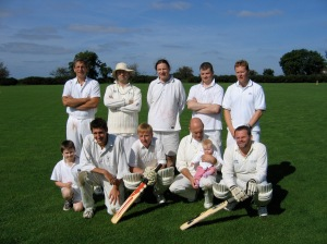 The Evening Herald cricket team. There were 80 cricket teams in Tipperary alone before the advent of the GAA