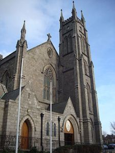 Exterior view of St John the Baptist Church in Blackrock.