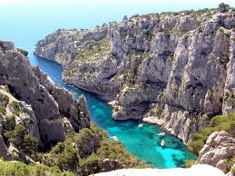 One of the famous calques - finger-like inlets - near Cassis.