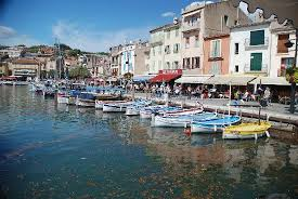 The port of Cassis, near Marseilles. A Swedish visitor complained to the authorities that the sea was too cold.