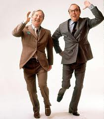 Bring Me Sunshine - Grace and I imitated the Morecambe and Wise dance on our way home from school.