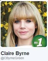 Claire Byrne, who was in the running for a seat in Pembroke South Dock.