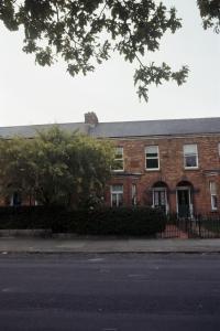 The house in Brighton Square, Dublin, where Joyce was born.
