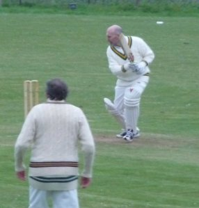 Me in action against Mere CC last summer.
