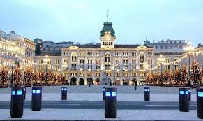 The Piazza Grande in Trieste; its grandeur is based on its former status as the main port of the Austro-Hungarian Empire.