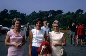 Auntie Vera (right) and friends at a golf tournament in the late 1960s.