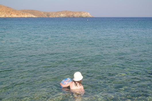 Grace looks to take on the Aegean Sea.