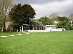 The old Richard Beamish pavilion at Cork County's ground.