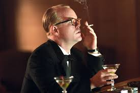 Philip Seymour Hoffman plays Truman Capote in the movie 'Capote'.