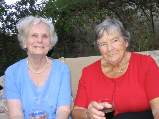 My mother-in-law Ann (left) with my own mother Pat in 2003.